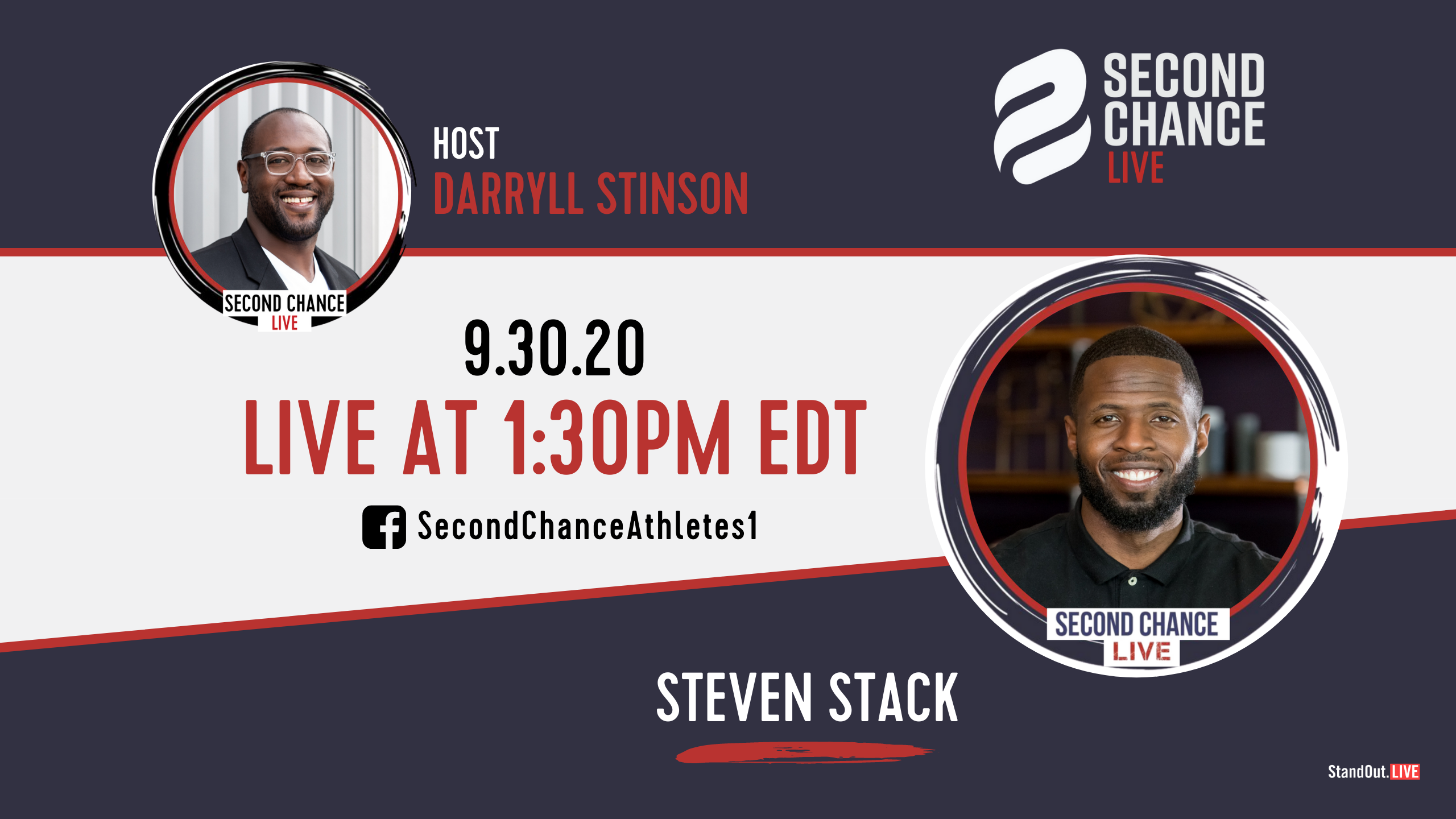 Second Chance LIVE -with Steven Stack