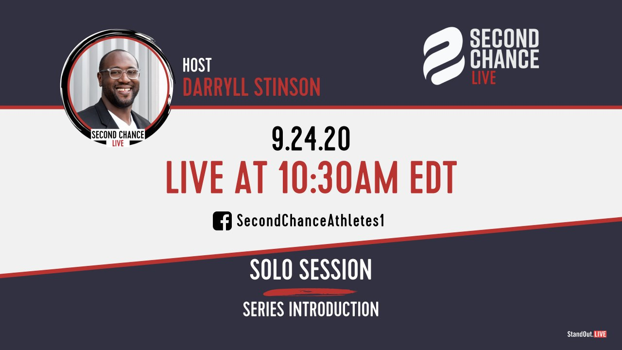 Second Chance LIVE – Introduction with Darryll Stinson