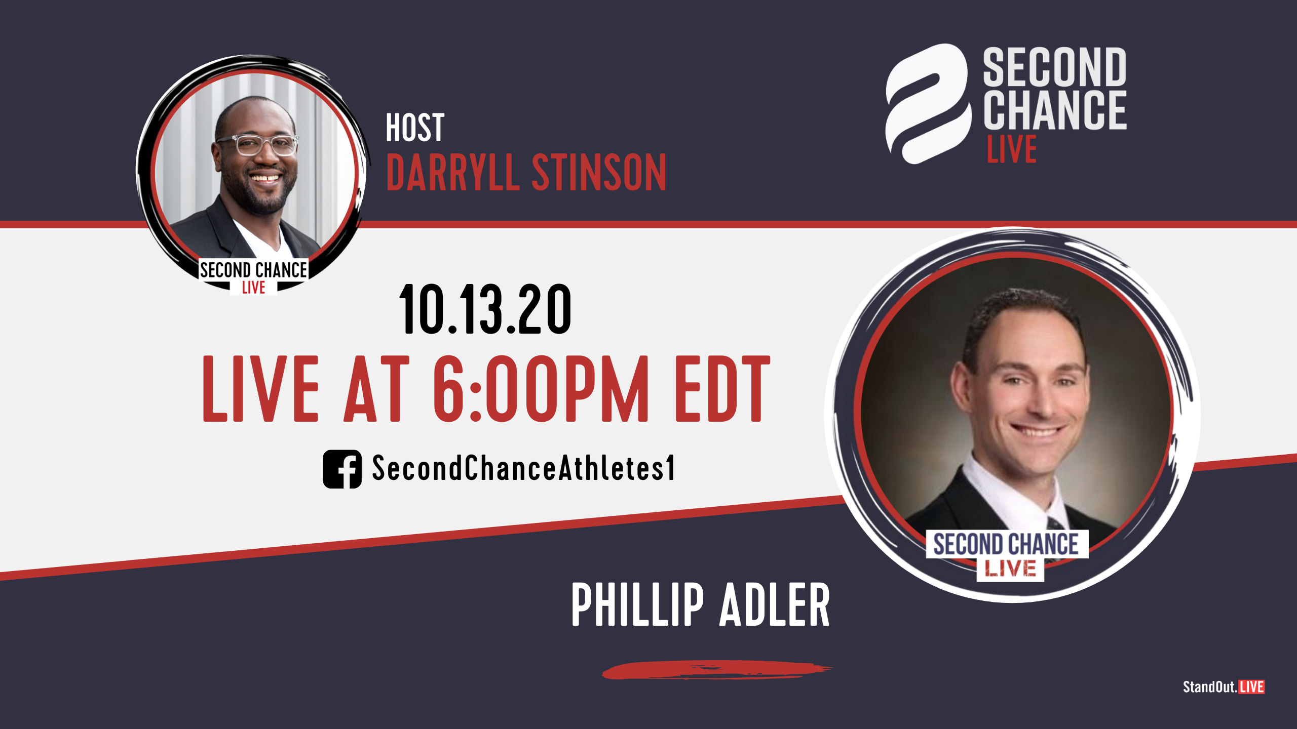 Second Chance LIVE -with Dr.Phillip Adler