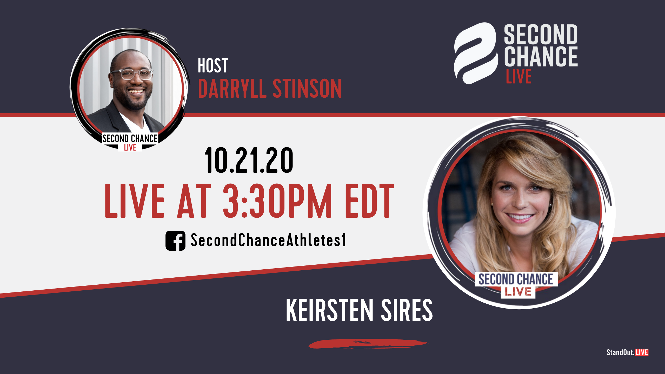 Second Chance LIVE -with Keirsten Sires