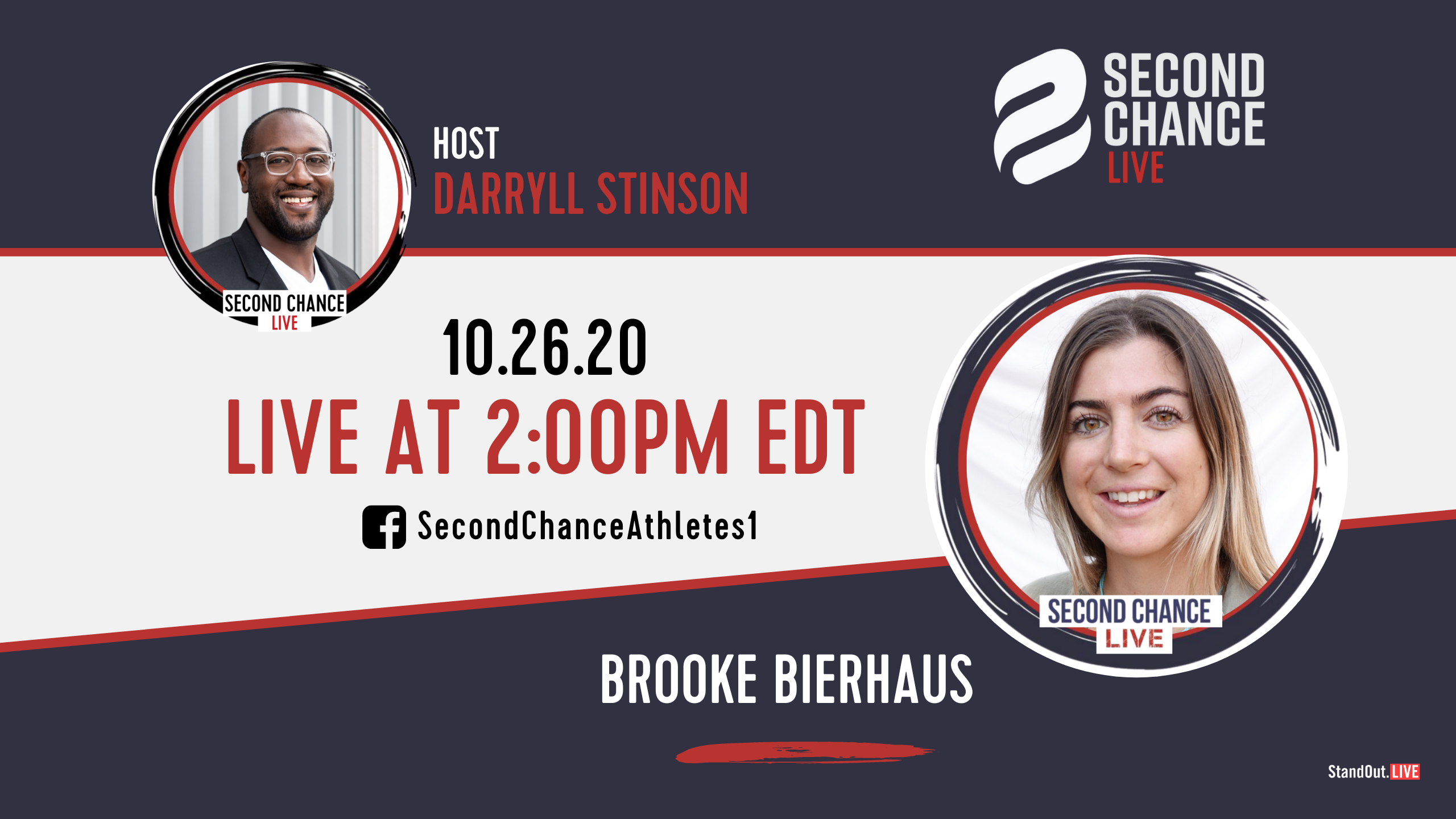 Second Chance LIVE -with Brooke Bierhaus