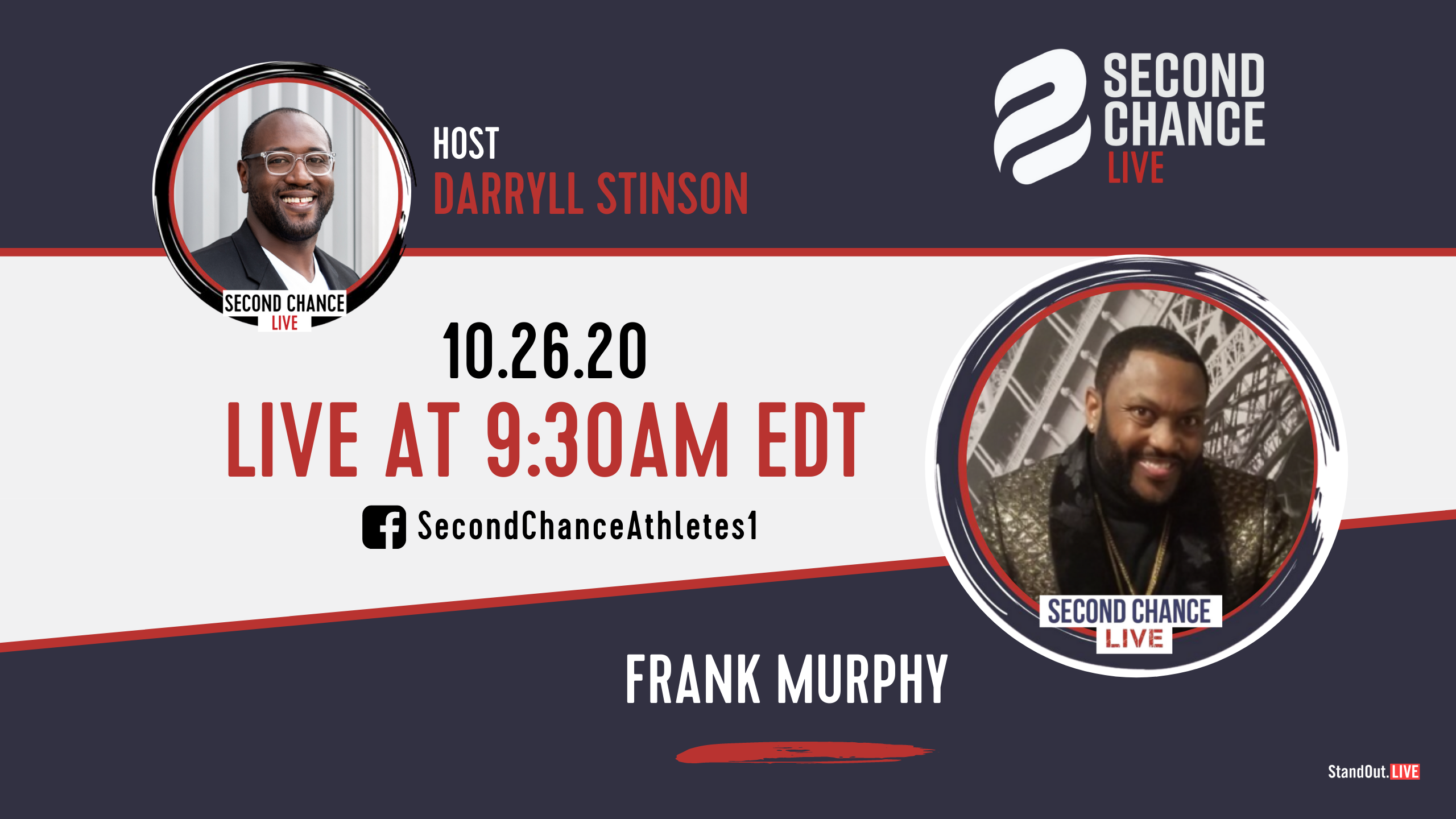 Second Chance LIVE -with Frank Murphy