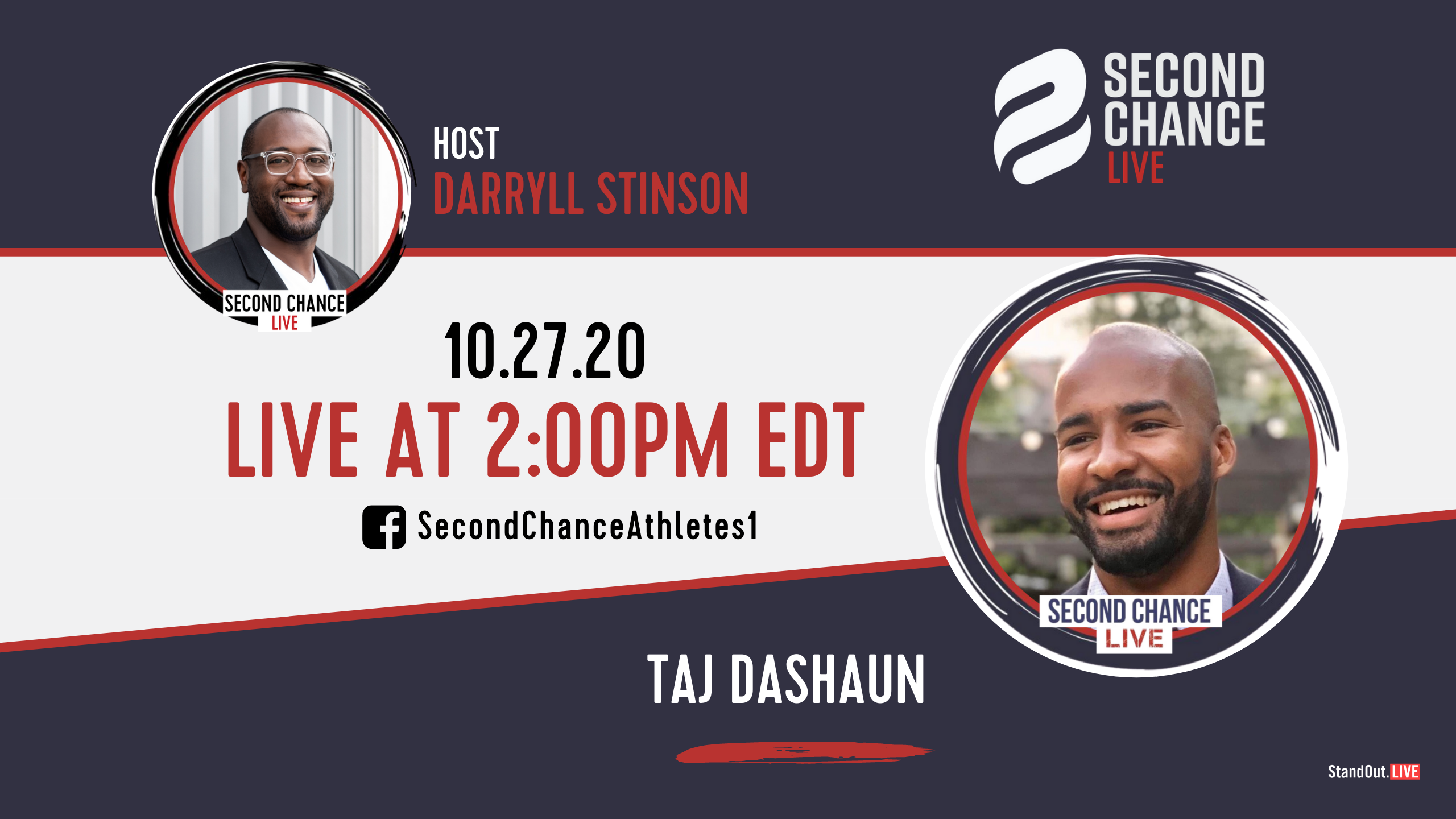 Second Chance LIVE -with Taj Dashaun
