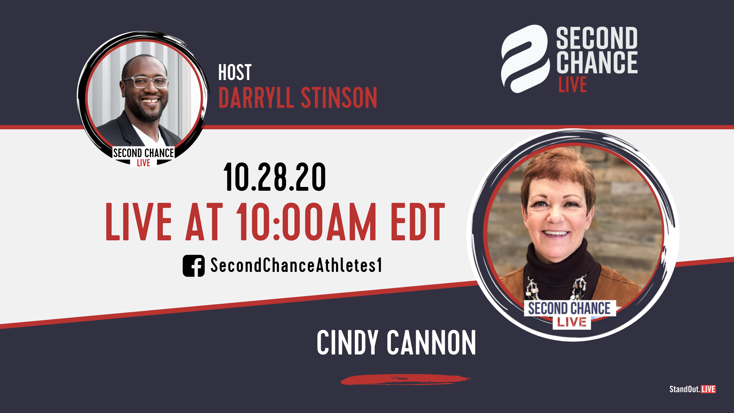 Second Chance LIVE -with Cindy Cannon