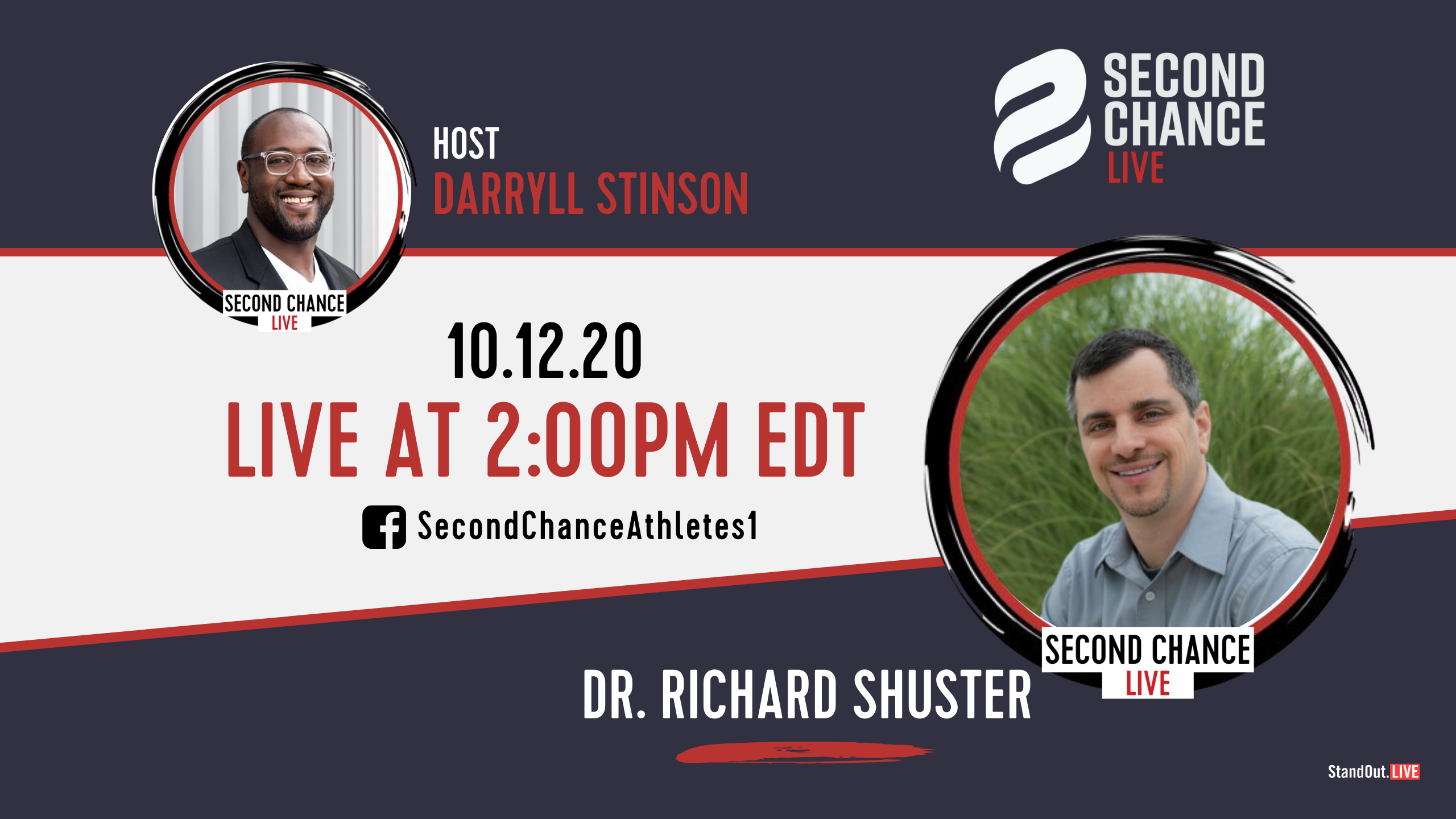 Second Chance LIVE -with Dr. Richard Shuster