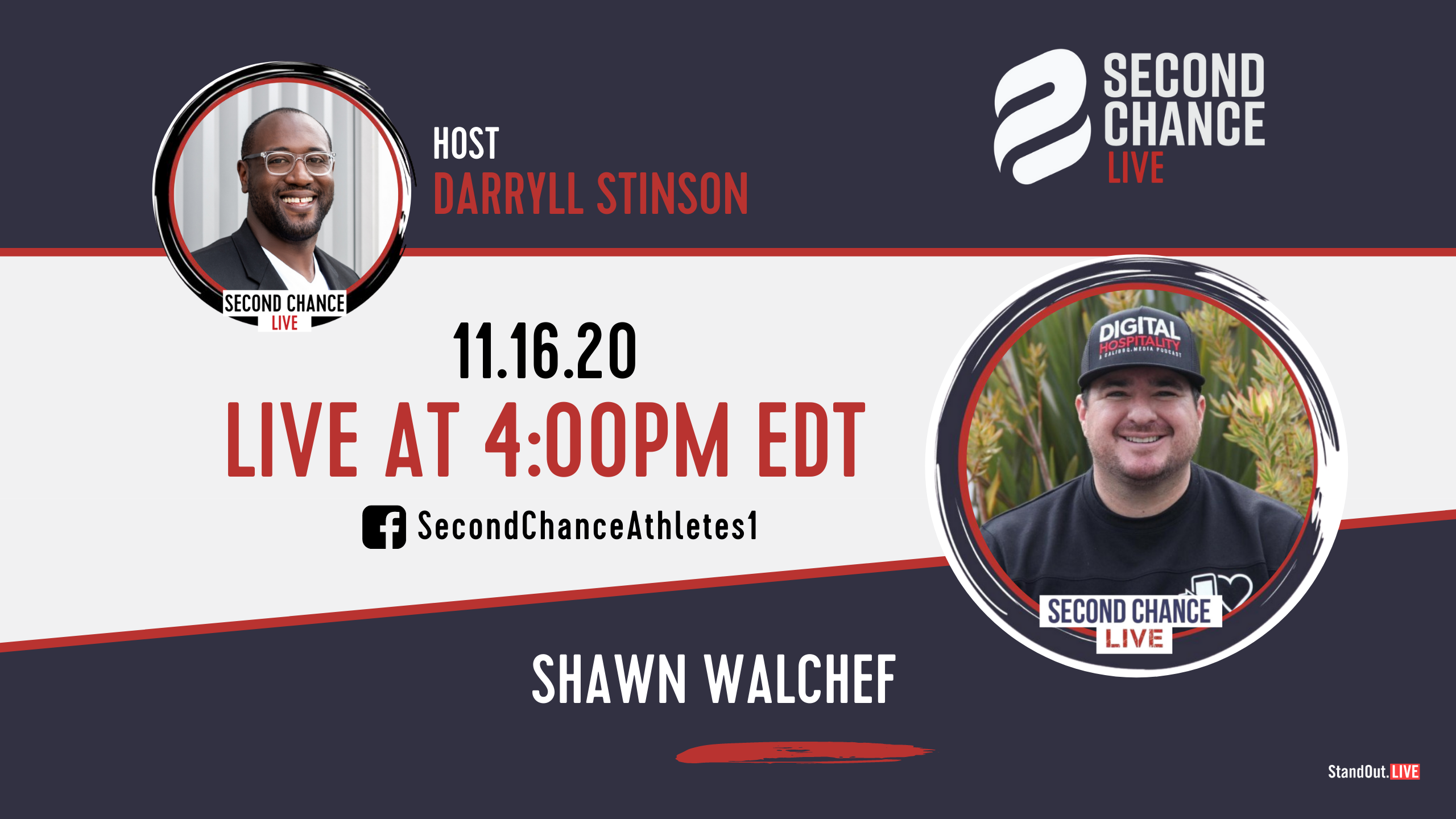 Second Chance LIVE -with Shawn Walchef