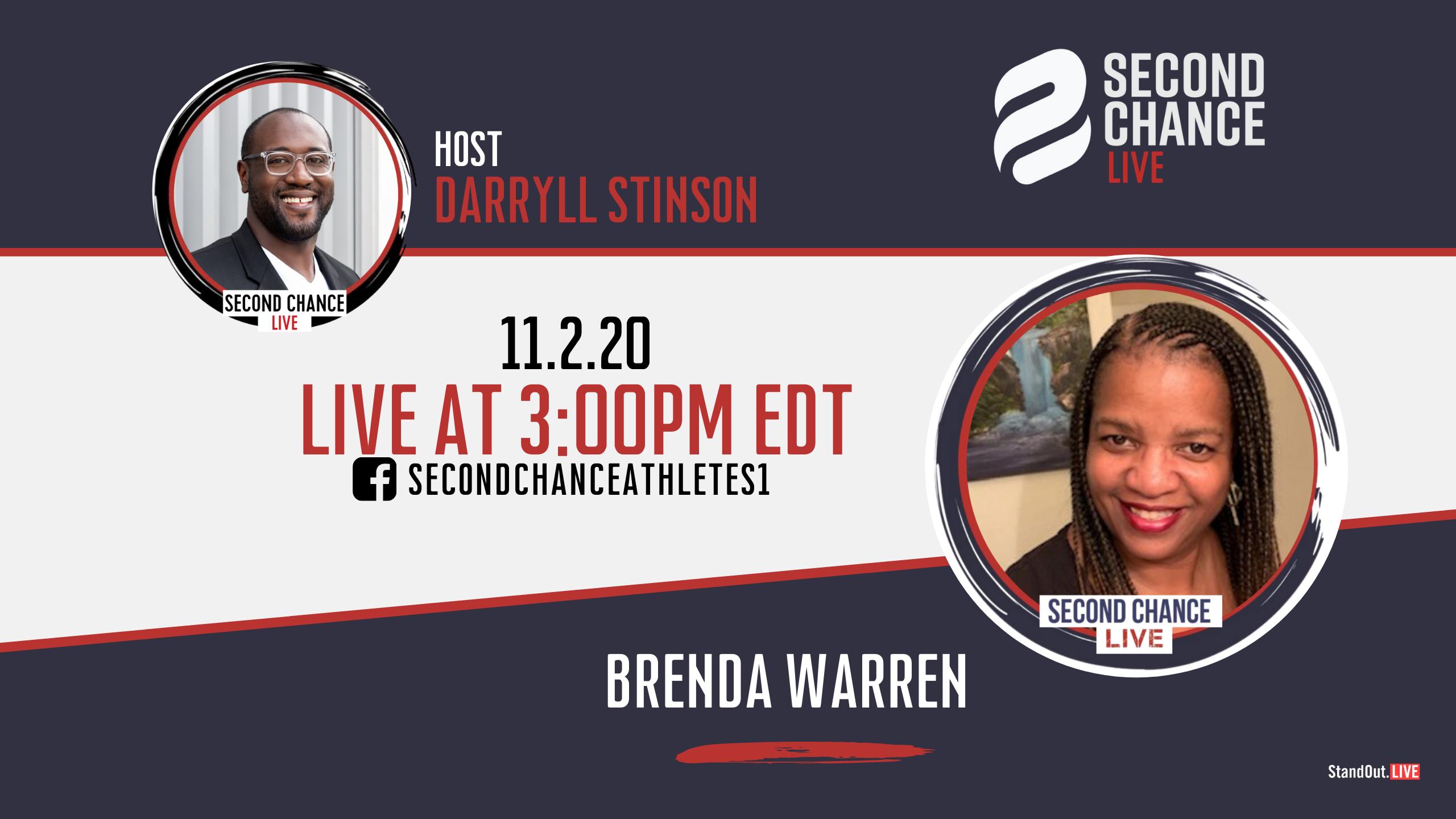 Second Chance LIVE -with Brenda Warren