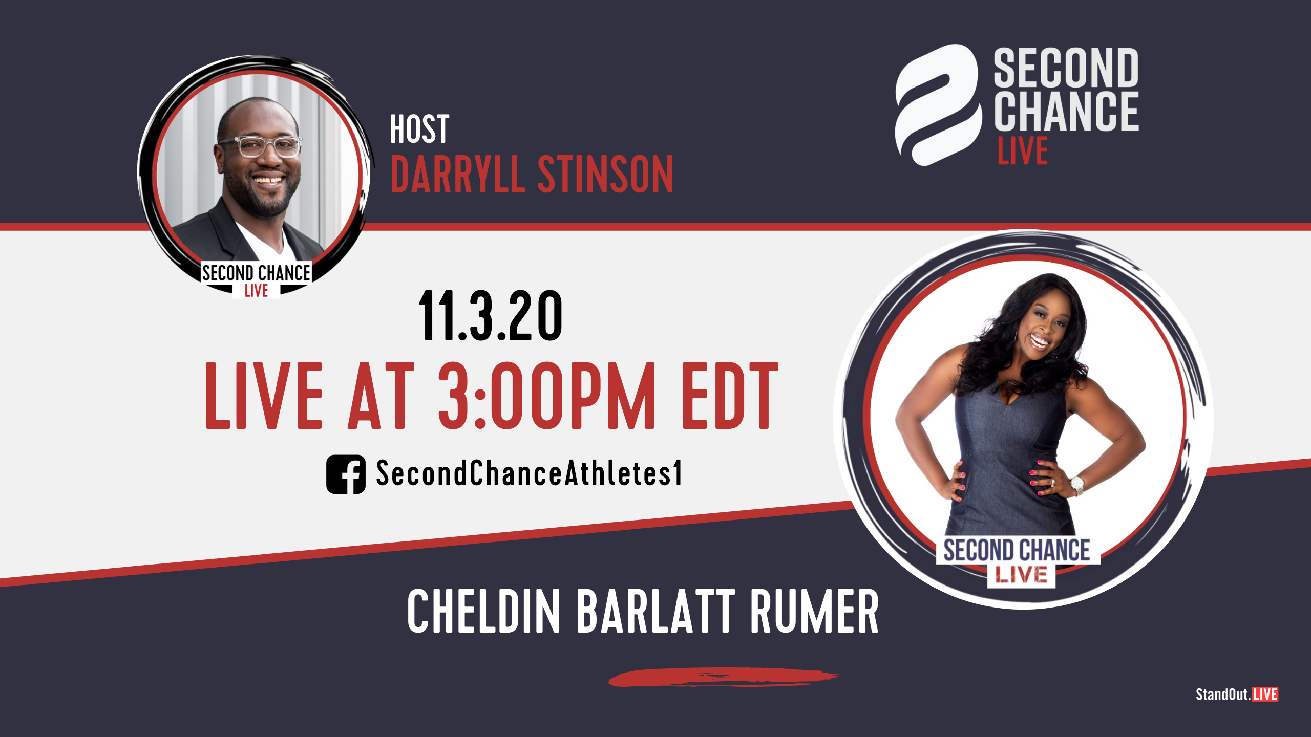 Second Chance LIVE -with Cheldin Barlatt Rumer