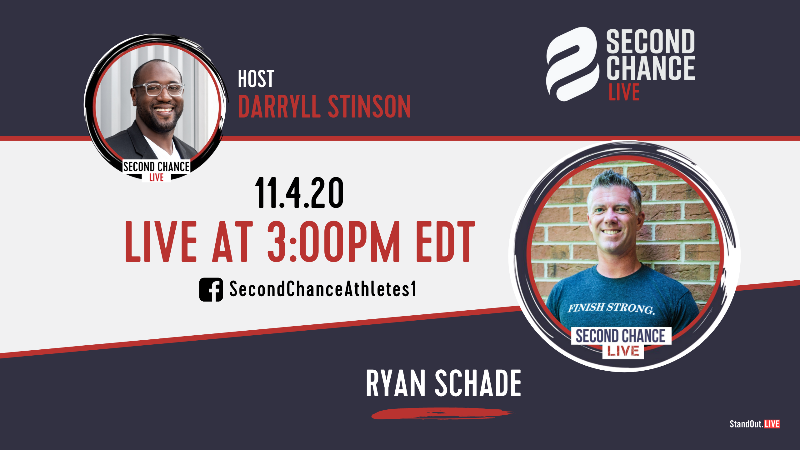 Second Chance LIVE -with Ryan Schade